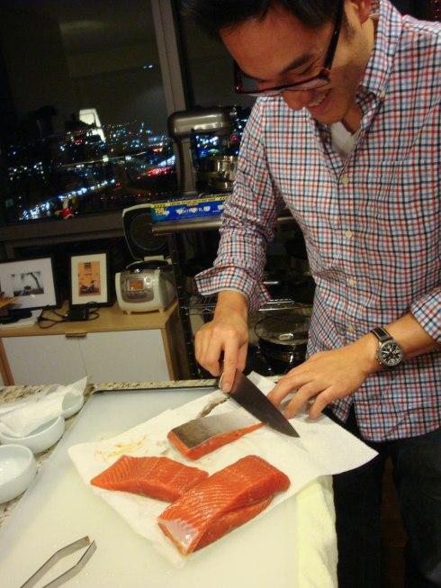 Andrew's Salmon Prep